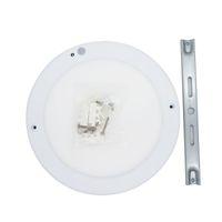 lámpara cuadrada de comedor al por mayor-Luz del panel del sensor PIR súper brillante de 15 W 90-130 V Cuadrado redondo Sensor LED Downlight Lámparas de color blanco cálido para comedor