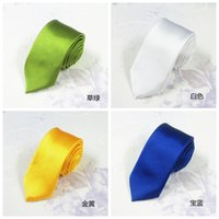 Wholesale Wholesale Silk For Ties - 2015 Brand Fashion Designer 23 Style Silk Ties for Men Solid Celebrity Pajaritas Gravata Slim Mens Neck Skinny Tie
