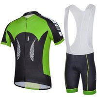 Wholesale Montain Bikes - Wholesale summer 2014 cheji cycling jersey team bike wear hot sale good quality green outdoor montain clothing