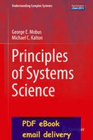 Wholesale Principles of Systems Science Understanding Complex Systems