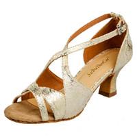 Wholesale Latin Dance Shoes Brands - Wholesale-Free Shipping 2015 New Arrival Fashion Brand Girls Women's Ballroom Salsa Tango Latin Dance Shoes Gold&Silver&Blue