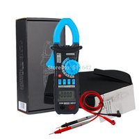 Wholesale Wholesale Frequency Meter - Wholesale ACM03 Digital Clamp Meter Multimeter Auto Range AC DC Current Voltage Frequency Capacitance Tester VS MS2108A