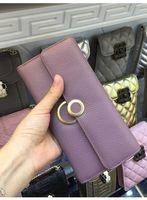 Wholesale Nature Wallets - 2017 Long Wallets Women Genuine Nature Leather Purse Korean Hasp Card Holder fashion Female Clutches Cuzdan Coin Pocket Money Bag