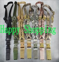 Wholesale Tactical D Sling One Single Point Sling Adjustable Bungee Sling Strap System