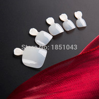 Wholesale Toe Nail Tips Wide False Nail Tips Acrylic Nail tips