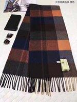 Wholesale Free Famous Logos - Warm famous Brand Winter LOGO Scarf Women men100% Wool Scarf Fashion Women Designer Warm Scarves wraps 200*38CM free shipping