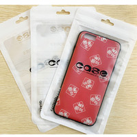 Wholesale cell phone hanging pouch for sale - Group buy Zip lock bags Zipper Retail Package Bag Cell Phone Iphone Case Clear Packing Bags Zipper Hang Hole Package Pouches bags for Cell phone