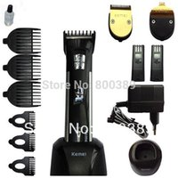 1set Titanium Blade Profesional Clipper Herramientas Eléctricas Precision Cordless Hair Trimmer Pelo Clipper para Bebé Niños Pets Home Haircut