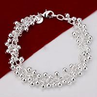 Wholesale 925 ale jewelry - Snap Charms Bracelet for Women Men Snap Handmade Jewelry Bracelets Bangle 925 Ale Infinity 925 Sterling Silver Beaded Bracelets