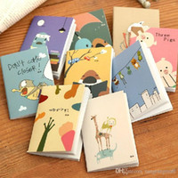 Wholesale Little Notebooks Wholesale - New Arrival Hot Sale Cartoon Little Notebook Handy Notepad Paper Notebook Journal Diary Drop Shipping HG282 A5