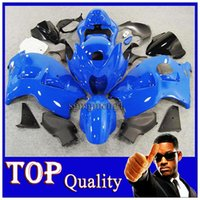 Wholesale W11 Cover - blue Fairing For Suzuki GSXR 1300 1997 1998 1999 2000 2001 2002 2003 2004 2005 2006 2007 GSXR-1300 97-07 W11 with Tank Seat Cover Fit Hayabu