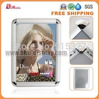 Wholesale Aluminum Snap Frames Wholesale - Free Shipping!! Aluminum A4 32MM edge Snap Frame, Clip frame