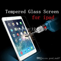Wholesale Pc Screen Guard - 0.4mm 9H Tempered Glass Screen Protector Anti Shatter Explosion Tablet PC Guard for ipad 2 3 4 5 6 air 2 mini