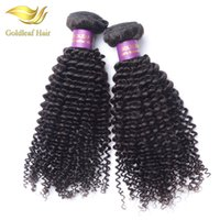 Wholesale Cheap Wholesale Remy Kinky Hair - mongolian kinky curly hair 3pcs lot brazilian curly virgin hair cheap mongolian kinky curly human vigin hair weave
