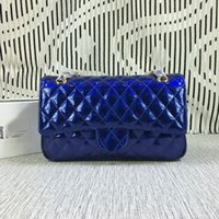 Wholesale Nice Totes - Free Shipping! Hot Sell Nice Style Classic Fashion Patent Leather Women Handbag Bag Shoulder Bags Lady Small Chains Totes bags 1112