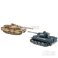 Wholesale Toy Tank Battle - Wholesale-Wholesale - Funny RC Infrared Remote Control Battle Tank Model Toy with Sound & Light Design