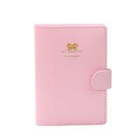 Wholesale Passport Cover Cute - Wholesale- Hot Passport Protector Cover Holder Case Organizer Cute Sweet Bowknot Crown Buckles Protetor de Passaporte Pink