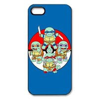 "Wholesale Iphone Case Ninja - funny cute ninja squirtlefunny cute customized fashion design for iphone 6 case 4.7"" plus 5.5"" for iphone 4 4s 5 5s 5c Back cover case 06"