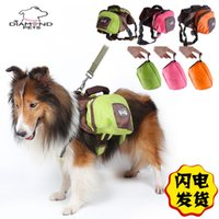 Wholesale Vehicle Canopies - 1102012 Adorable Cute large Dog Cat Foldable Self knapsack Travel Food Backpack change key bag New Arrival Best Quality Dog outdoor Backpack
