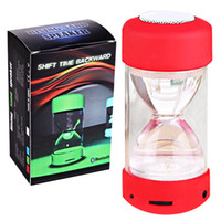 Wholesale super basses for sale - Group buy LC A22 Speakers TF Slot U Disk Bluetooth Hourglass Super Bass Colorful Speakers Four Outdoor Sports DHL Free MIS111