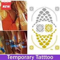 1 Blatt Dot Kreis Hot Tattoo Schmuck Temporäre Tattoo Transfer Sticker Neue Designs Bijuterias Glitter Tattoo tato