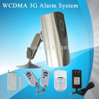 Wholesale 3g Home Security Camera Wireless - Free shipping!The best home Alarm System SMS MMS 3G WCDMA GSM wireless controller security system with 3G Camera