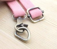 Wholesale Alloy Bag Hook - 30 pieces DIY metal bag accessories 32mm zinc alloy Lobster Clasp + D-ring + Square Buckle Spring hooks ,freeshipping
