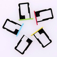 Wholesale slot sim card tray iphone 5c resale online - Sim Card Tray For iPhone c Card Slot Tray Brand new all colour for C