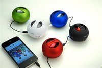 Wholesale Mini Hamburg Speaker - Universal Surround Sound Speakers Hot Sale Best Computer Speakers Fashion Hamburg Shape Wireless Stereo Speakers SY018