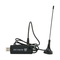 R820T USB DVB-T TV Dongle Receptor de TV Digital TV tuner DVB-T Stick with Antenna