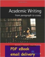 Wholesale Academic Writing from Paragraph to Essay by L A Rumisek D E Zemach