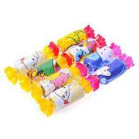 Wholesale Towel Shaped Gifts - Wholesale-2015 Precious Mini Cartoon Animal Print Wedding Towel Wash Cloth Birthday Gift Candy Shape Towel