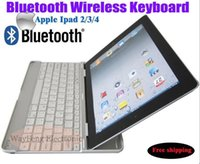 Wholesale-Tragbare Bluetooth 3.0 Wireless-russischen Tastatur-Layout für PC Computer Laptop Tablet Smart Phone und für MacBook iPad F5