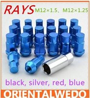 Wholesale Anti theft screws RAYS wheel nuts modified anti theft screws to screw the tire nut anti theft nuts top sale