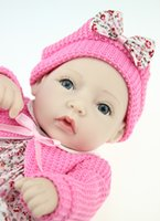 Wholesale New Real Love Dolls - Wholesale-2015 NEW girl love toys hotsale minidoll lifelike reborn baby soft real touch baby dolls fashion Birthday gift