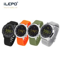 Wholesale Counting Watch - Smart sport watch EX18 with Setp monitor calory burn counting Bluetooth smart watch IP67 waterproof function remote camera control vs ex16