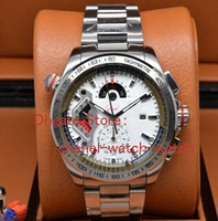 Wholesale Grand Calibre 36 Tags - Brand New AAA Grand Calibre 36 RS Stainless steel Bracelet Special Mens Quartz movement Watch Men's Sports Wrist Watches