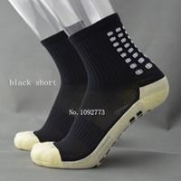 sıcak erkekler çorap futbol toptan satış-Sıcak satış kısa Futbol Çorap Erkekler Futbol çorap Kaymaz Spor Çorap Kayma dirençli Futbol Çorap Kaliteli TockSox