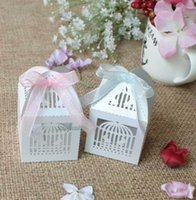 Wholesale Sweet Wedding Favours - 25 x Birds Loving Wedding Sweets Favour Boxes Wedding Favours Table Decorations order<$18 no tracking