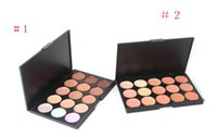 Wholesale types makeup tools - Professional Colors Concealer Foundation Contour Face Cream Makeup Palette Pro Tool for Salon Party Wedding Daily