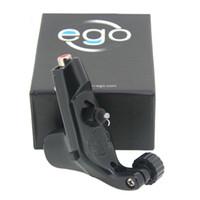 Wholesale Tattoo Frame Motor - Wholesale- 1Pcs Black Color Ego Rotary Tattoo Machine Motor Gun Lightweight Plastic Frame BEZ LITTLE EGO V2 For Permanent Makeup