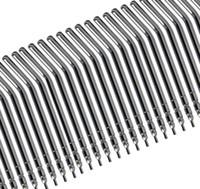 металлическое сопло для воды оптовых-50шт металлического сплава спрей насадки советы для 3-сторонняя зубоврачебный воздуха воды шприц-тюбике