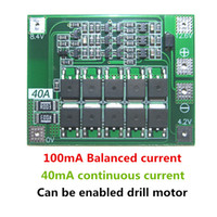 Wholesale battery lipo cell for sale - Group buy 3S A Li ion Lithium Battery Charger Protection Board PCB BMS with Balancer For Drill Motor V V Lipo Cell Module