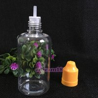 Wholesale Plastics Bottle Manufacturing - New arrival cheap plastic empty PET bottles manufactures 50ml clear dropper bottle for e liquid e juice oil with childproof cap