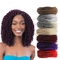 Where to find best synthetic weave hair online best jerry curl fashion 3pcs lot afro kinky curl hair weave for black women 8 90g 12colors to choose 30g pieces in bulk pmusecretfo Choice Image