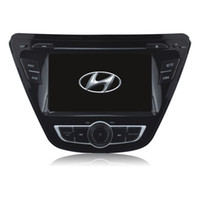 Wholesale Car Stereo System Gps Hyundai - OEM car audio system for Hyundai Elantra (2014) with gps cd mp3 mp4 dvr reversing camera function car dvd