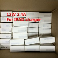 Wholesale I Ipad - 2.4A Fast Charging Goodl quality 12W USB Power Adapter Travel Wall Charger for i 5 5s 6 7 Plus iPad Air MINI