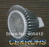 Wholesale Edison Style - high power led bulb edison chip 3*1w mr16 12v fashion style high aluminium heat elimination body