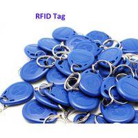 Wholesale Car Access Control - 50pcs 125Khz RFID Proximity ID keychains Keyfobs Car Parking Lot Access Control System Key tags RF key chains
