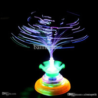 Wholesale Spinning Tops Laser - 2015 Hot Beyblade Toys for Kids UFO Single Laser LED Colorful Light Peg-Top Spinning Top with Classic Music